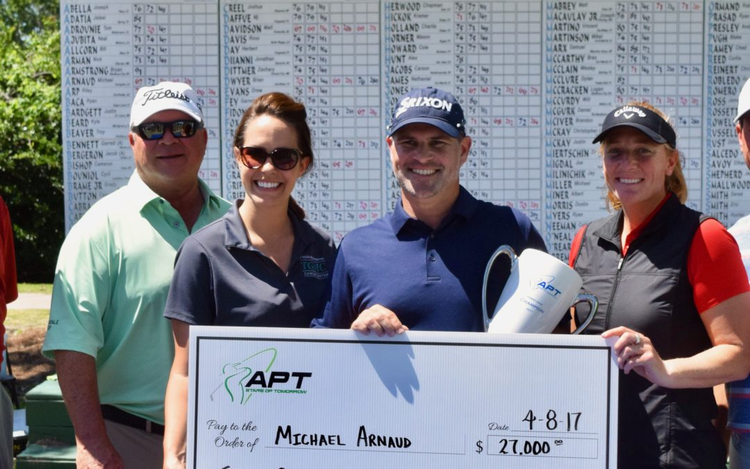 Michael Arnaud Wins Hebert Open