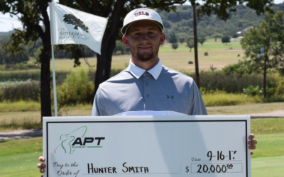Hunter Smith Conquers Brownwood CC