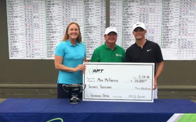 McGreevy Wins With Record Finish