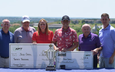Creel Goes Back to Back With Colbert Hills Win