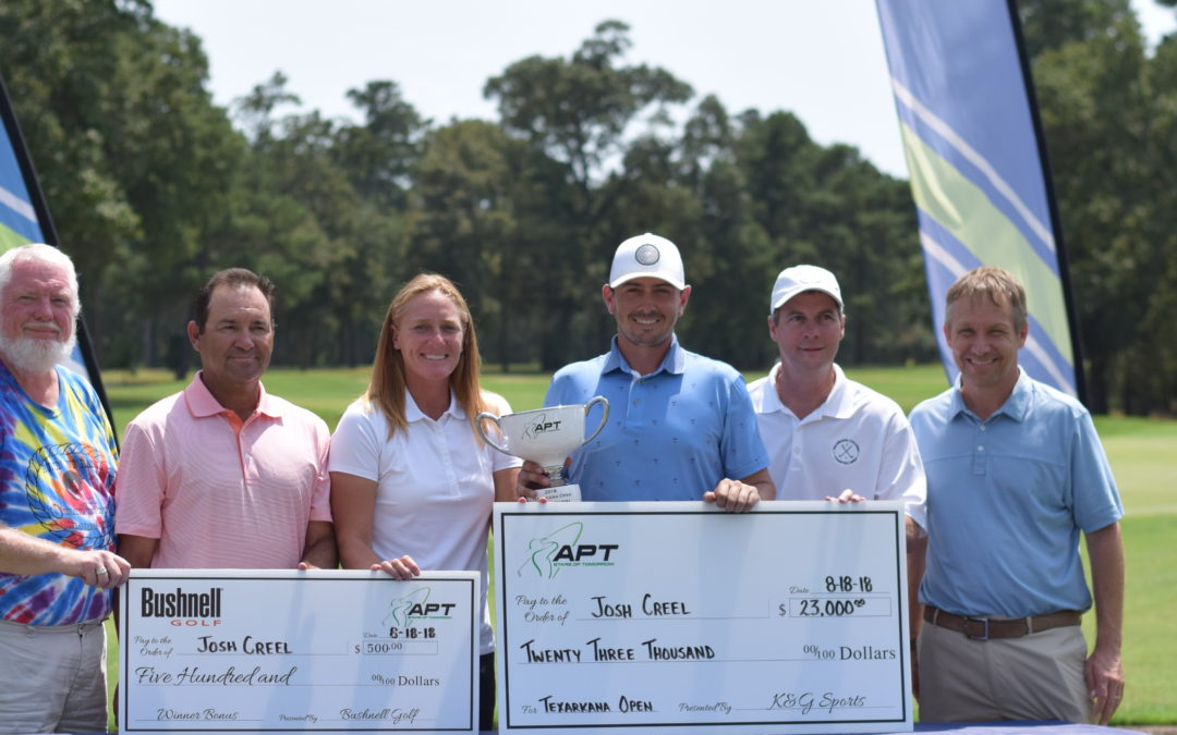 Creel Wins Texarkana Children's Charities Classic